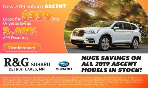 2019 Subaru Ascent - August