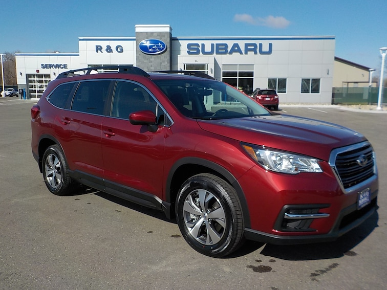 New 2019 Subaru Ascent Premium 8-Passenger SUV near Fergus Falls
