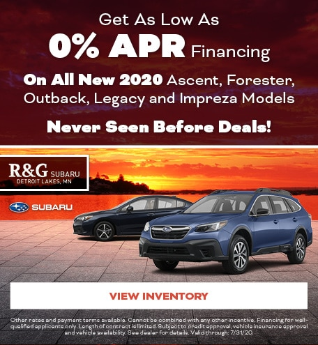 Get As Low As 0% APR Financing
