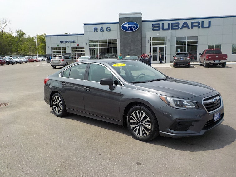 Used 2018 Subaru Legacy 2.5i, Remote Start, One Owner Sedan near Fergus Falls