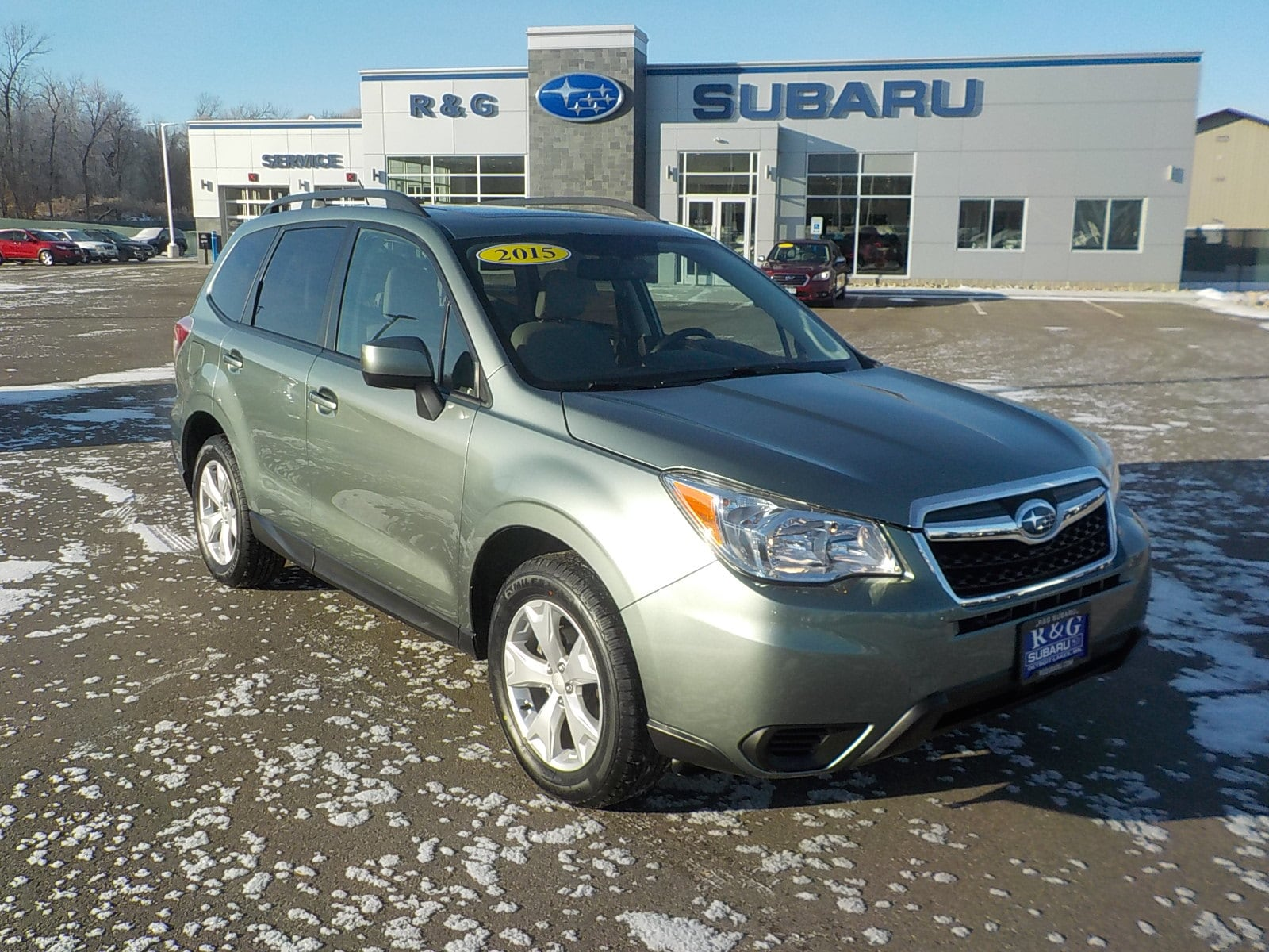 2015 Subaru Forester 2.5i Premium, New Tires, Remote Start, Local Trade SUV