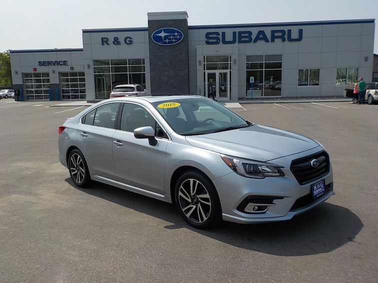 Used 2018 Subaru Legacy 2.5 Sport, One Owner, Remote Start, Moonroof Sedan near Fergus Falls