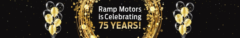 Ramp Motors is Celebrating 75 Years