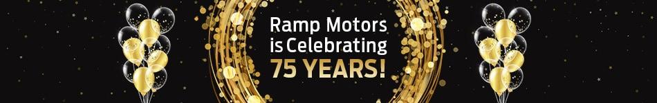 Ramp Motors is Celebrating 75 Years