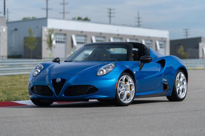 2020 Alfa Romeo 4C Spider Italia NJ