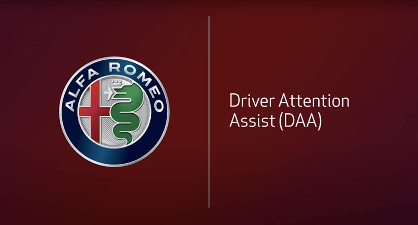 Alfa Romeo Driver Attention Assist