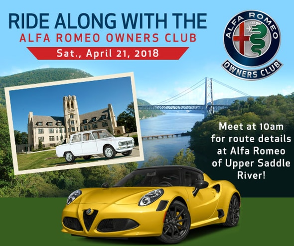 Alfa Romeo Owners Club Event West Point NY