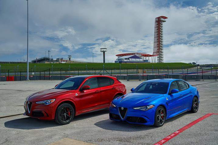 2018 Alfa Romeo Giulia Awards