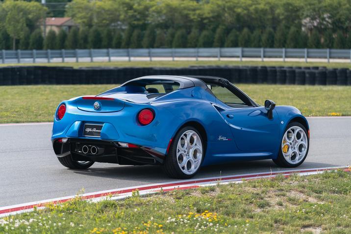 2020 Alfa Romeo 4C Spider Italia Exterior