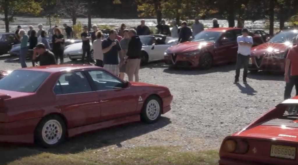 Alfa Romeo Owners Club Heritage Event NJ