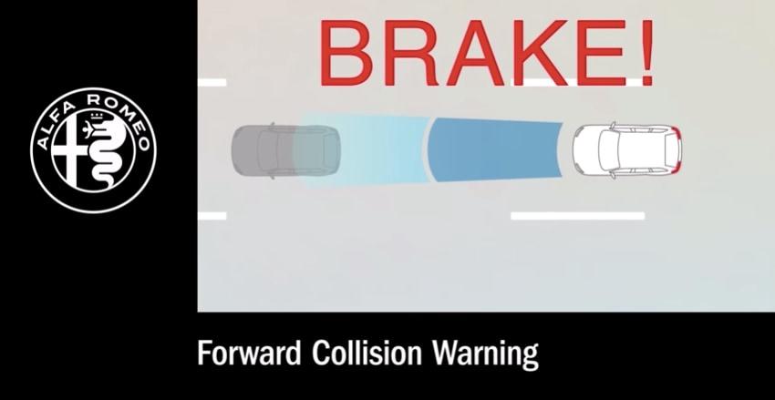 Alfa Romeo Forward Collision Warning