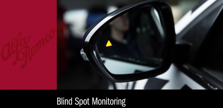 Alfa Romeo Blind Spot Monitoring