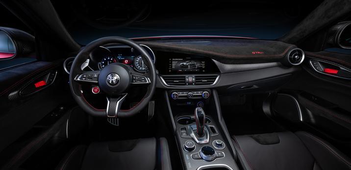 Alfa Romeo Giulia GTA Interior