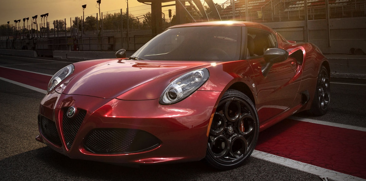 2017 Alfa Romeo 4C Coupe NJ