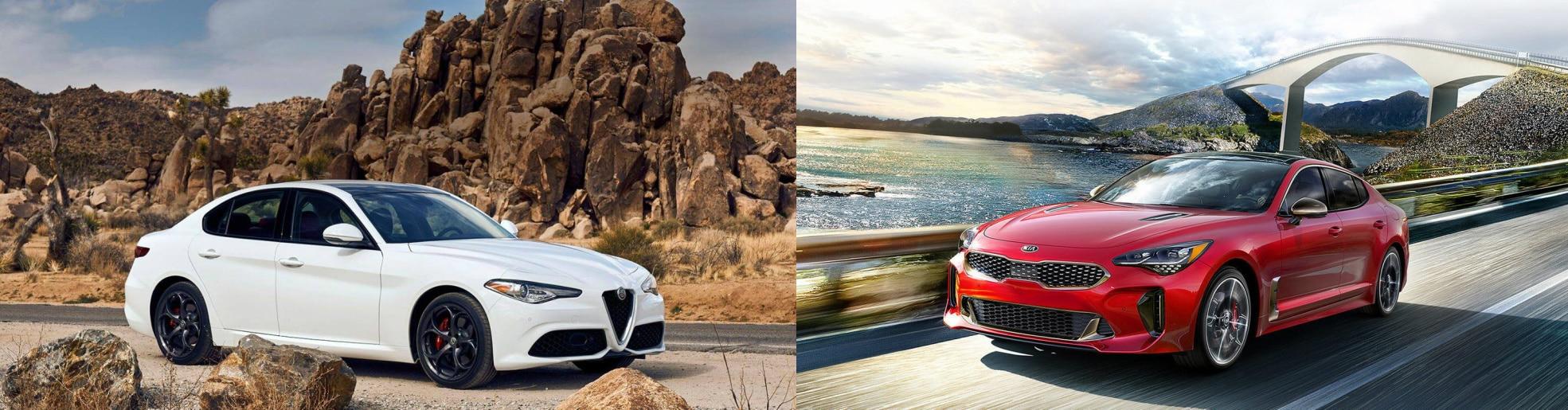 Alfa Romeo Giulia vs Kia Stinger