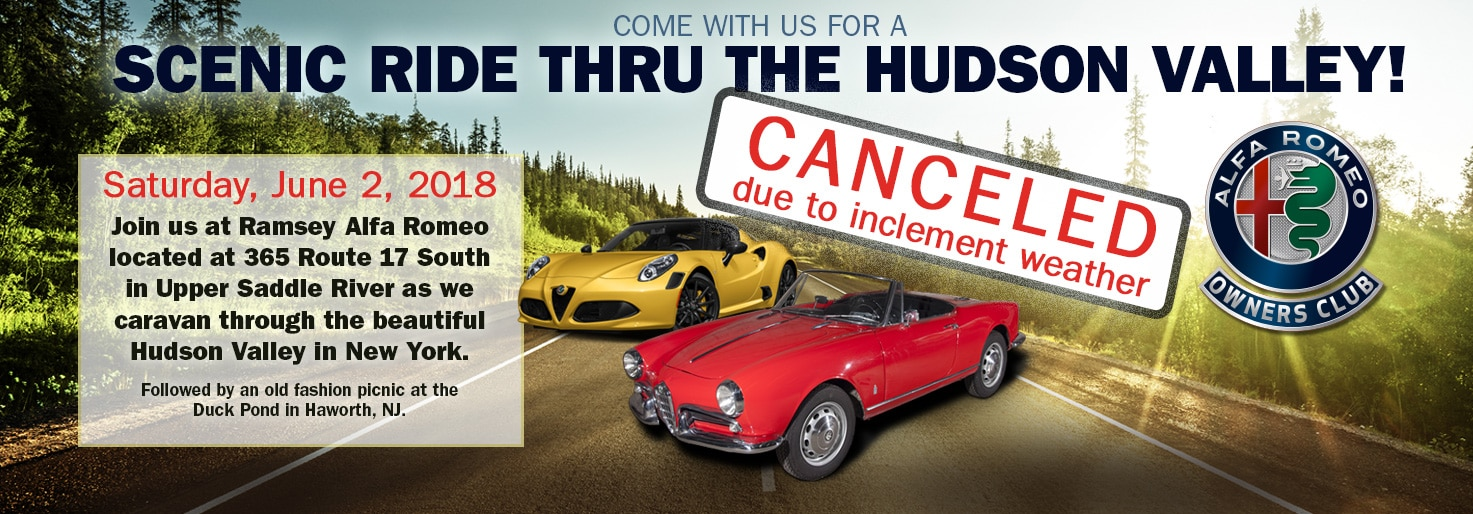 Alfa Romeo Scenic Hudson Valley Drive