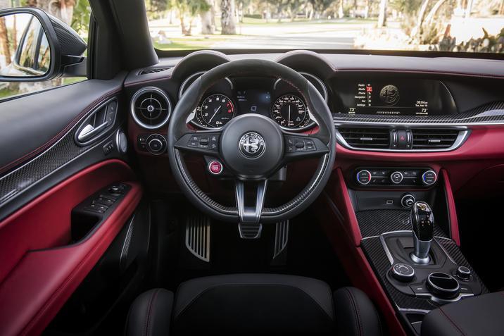 2019 Alfa Romeo Quadrifoglio NRING Interior
