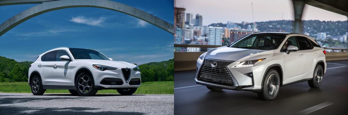 Alfa Romeo Stelvio vs Lexus RX 350