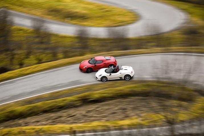 Alfa Romeo 4C Spider vs Coupe