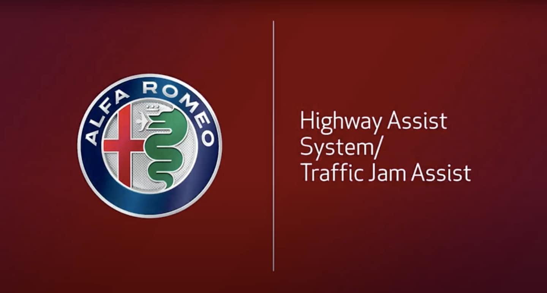 Alfa Romeo Traffic Jam Assist