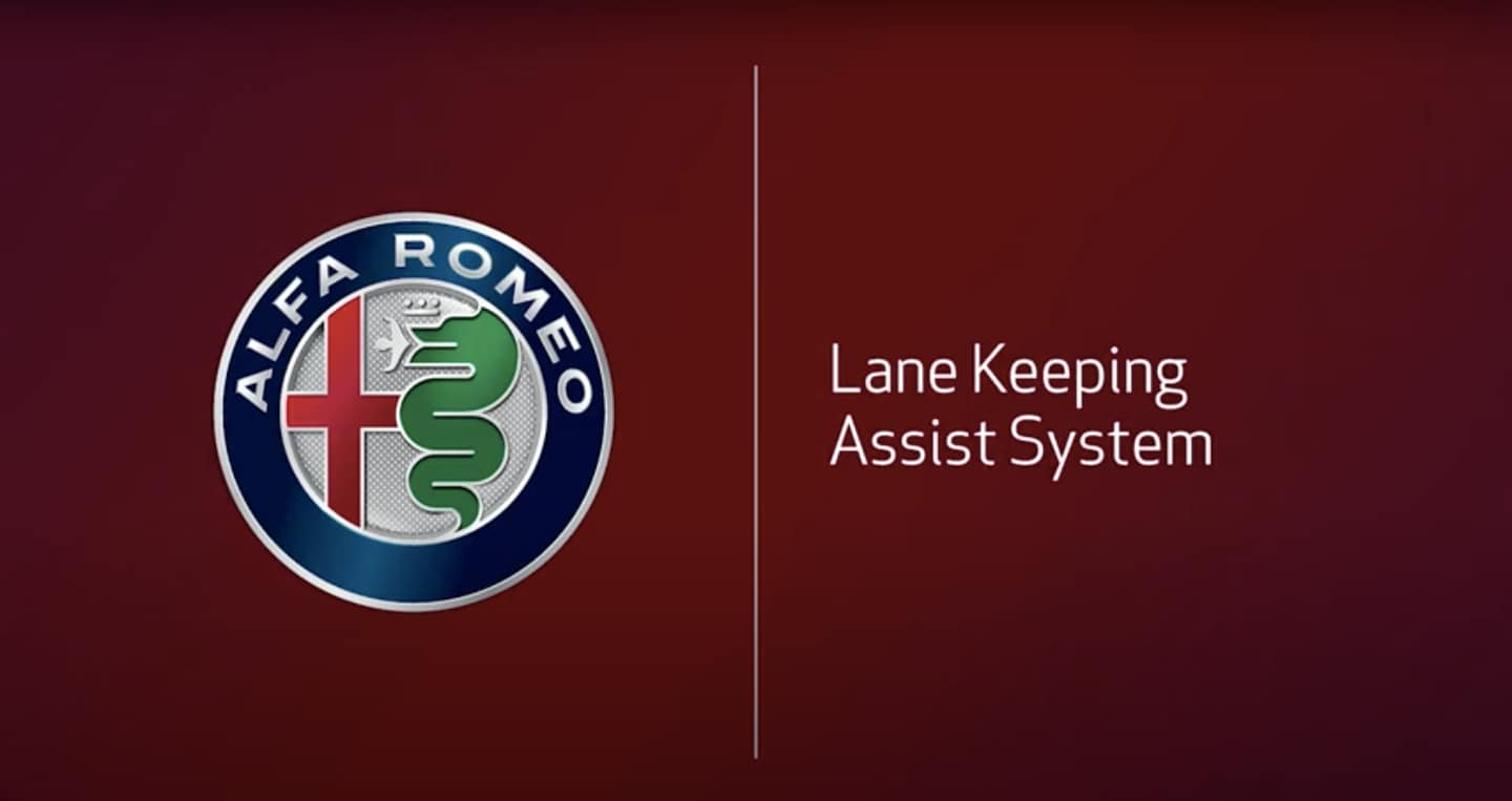 Alfa Romeo Lane Keeping Assist System