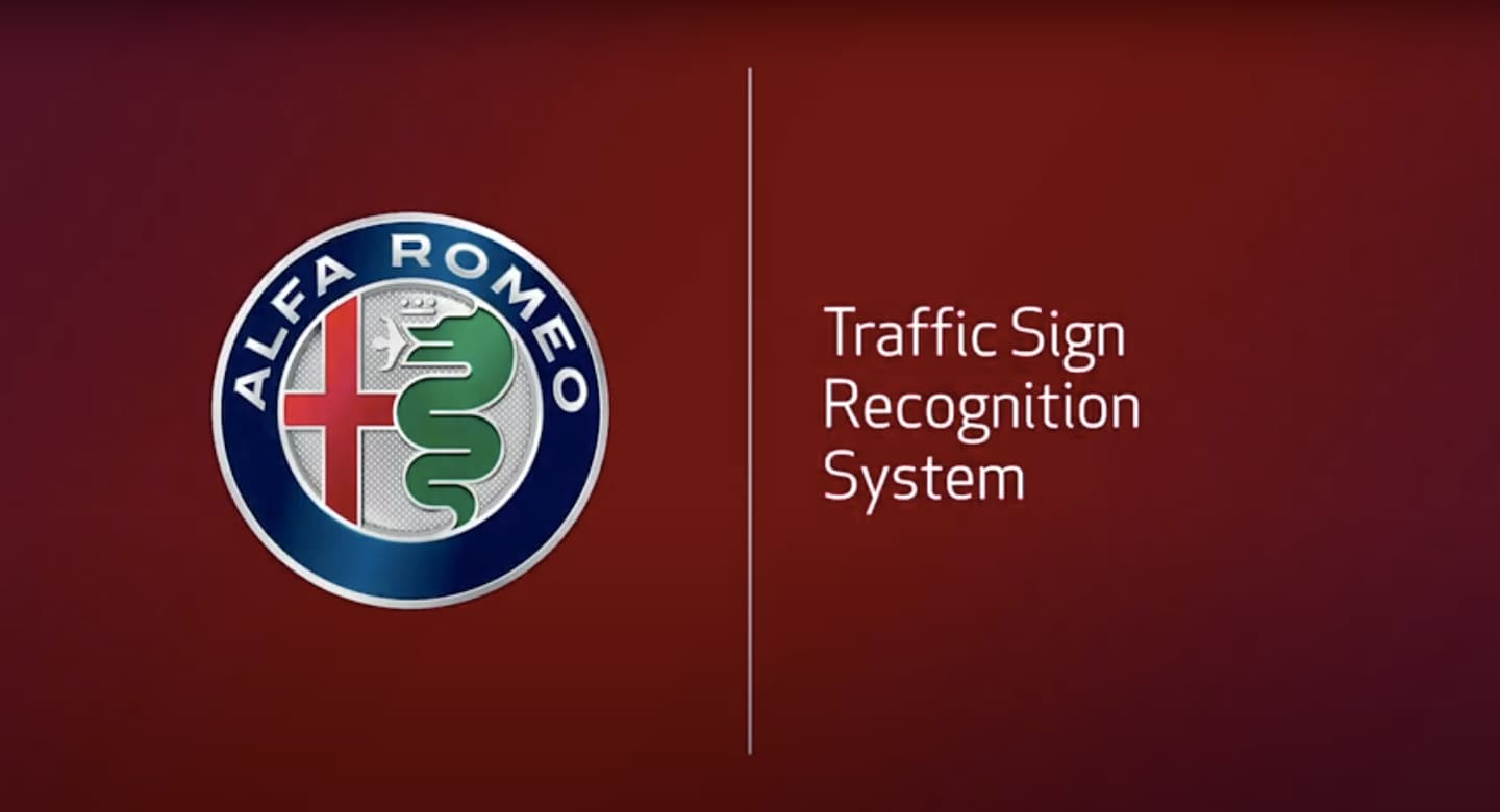 Alfa Romeo Traffic Sign Recognition System