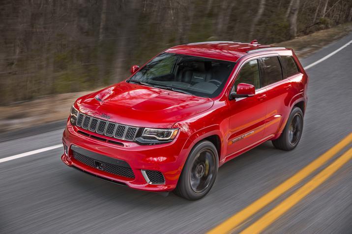 2018 Jeep Grand Cherokee Trackhawk NYC