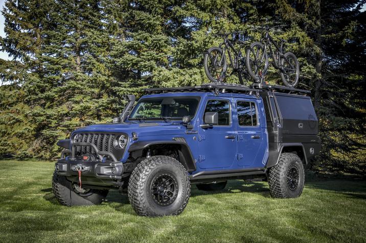 Jeep Gladiator Top Dog Concept NJ