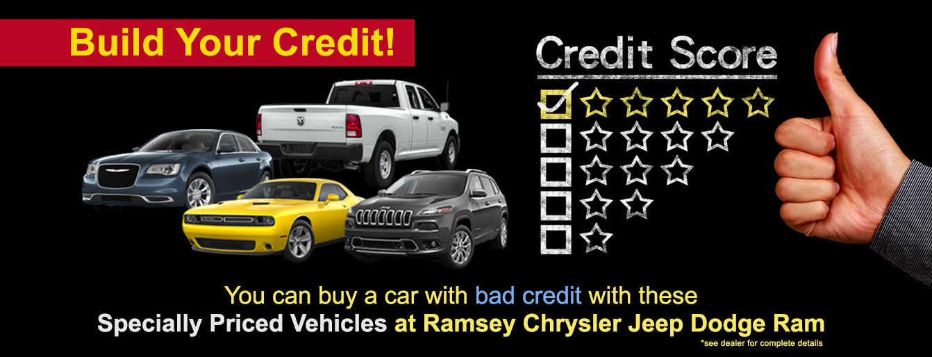 Build Your Credit At Ramsey Chrysler Jeep Dodge In Nj