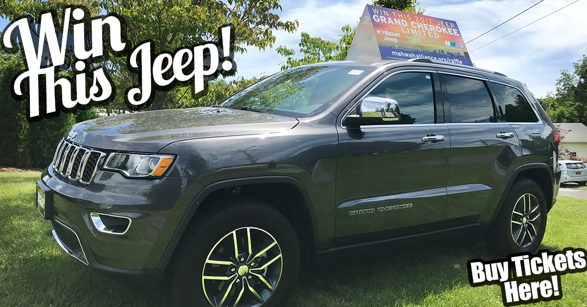 2017 Jeep Grand Cherokee Limited Raffle Prize