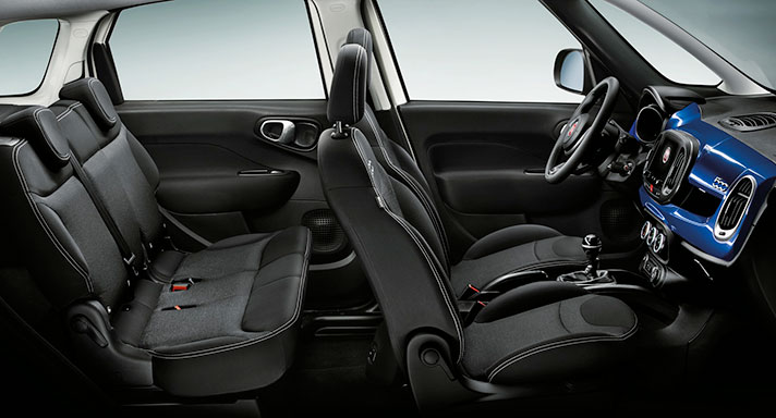 Fiat 500L Mirror Edition Interior