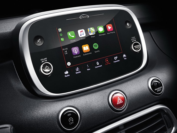 2018 Fiat 500X Apple CarPlay