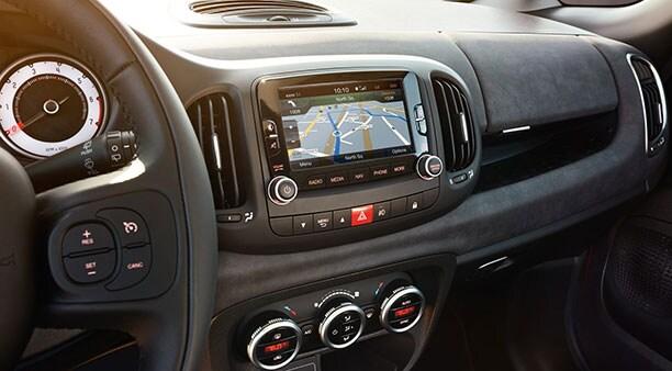 2018 Fiat 500L Uconnect Navigation System