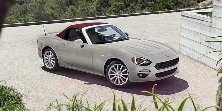 2018 Fiat 124 Spider Red Top Edition NJ