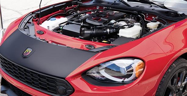 2017 Fiat 124 Spider Abarth Engine