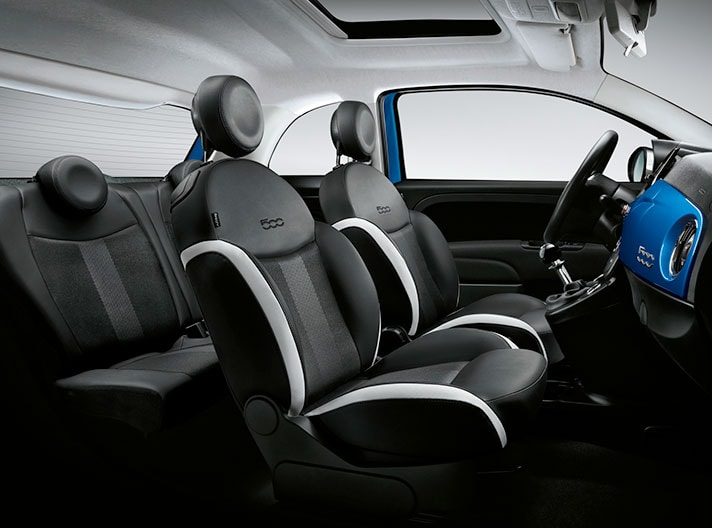 Fiat 500 Mirror Edition Interior