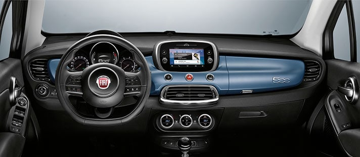 Fiat 500X Mirror Edition Interior