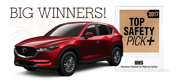 Mazda IIHS Top Safety Pick 2017