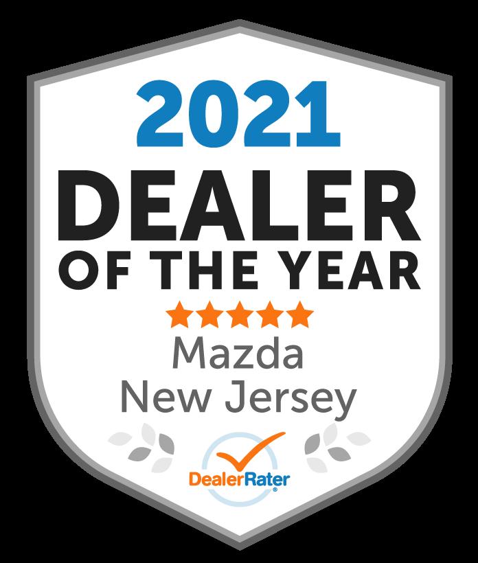 2021 DealerRater Mazda Dealer of the Year NJ