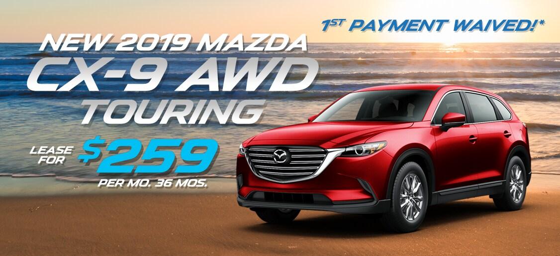Suv Lease Specials >> 2019 Mazda Cx 9 Suv Lease Deals Ramsey Nj