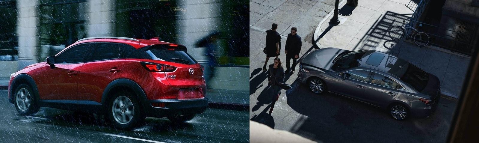 Mazda6 Mazda CX-3 Discontinued