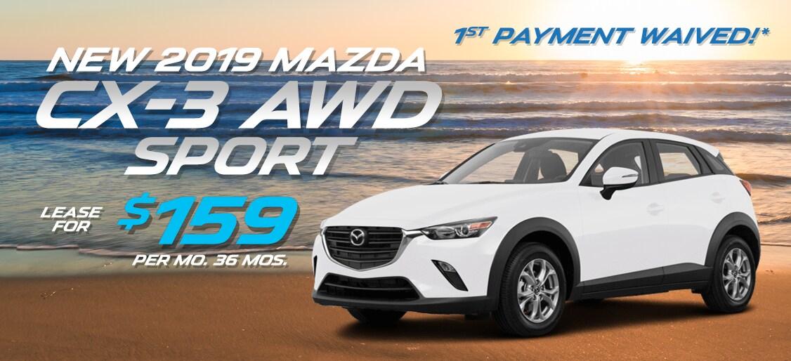 Mazda Cx 3 Lease >> 2019 Mazda Cx 3 Suv Lease Deals Ramsey Nj