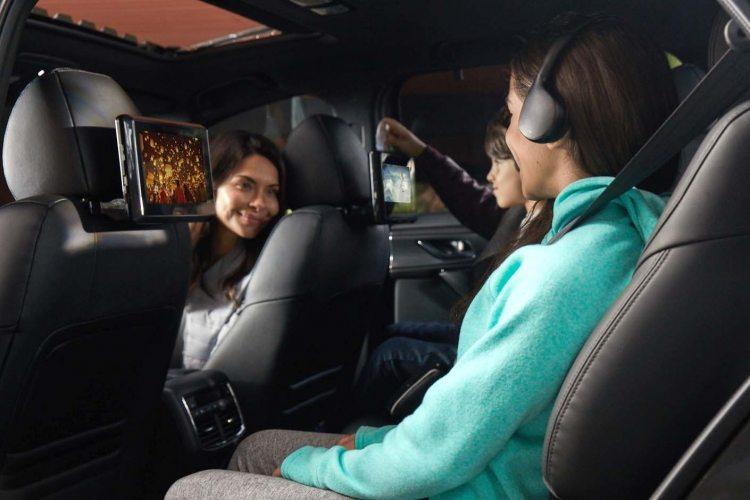 Mazda CX 9 Rear Seat Entertainment System