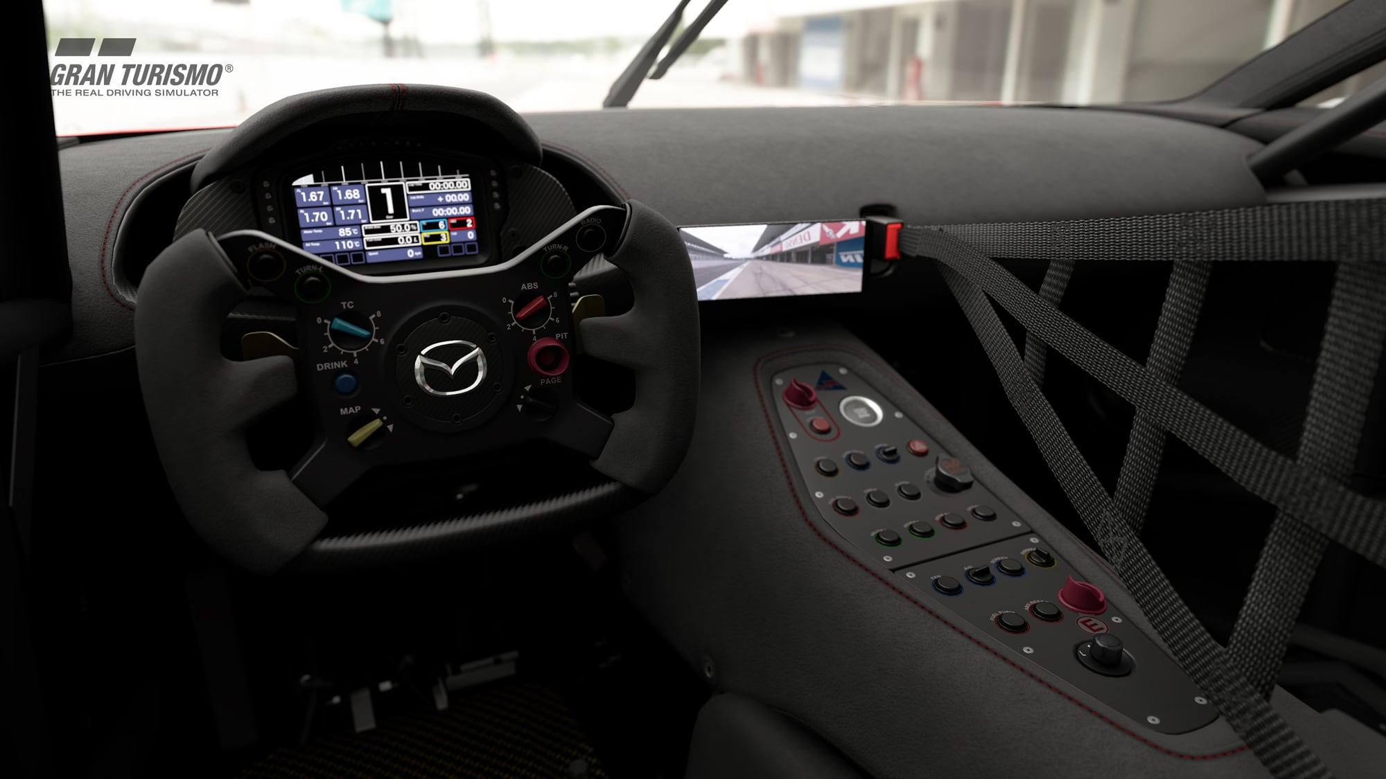 Mazda RX-Vision GT3 Concept Interior