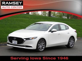 New 2019 Mazda Mazda3 Select Package Sedan JM1BPBAM6K1116706 in Urbandale IA