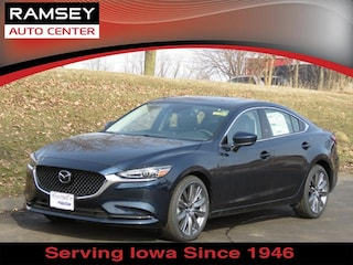 New 2018 Mazda Mazda6 Grand Touring Sedan JM1GL1TY2J1325760 in Urbandale IA