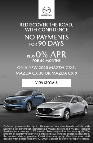 July No Payments for 90 Days Offer