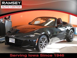 New 2019 Mazda Mazda MX-5 Miata Grand Touring Convertible JM1NDAD73K0300352 in Urbandale IA