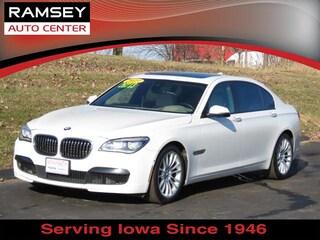 Used 2013 BMW 7 Series 750Li Xdrive AWD Sedan WBAYF8C53DD141275 in Urbandale