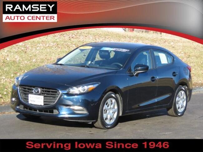 Certified 2017 Mazda Mazda3 4-Door Sport Auto Urbandale, IA